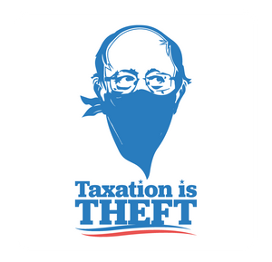 Taxation is Theft LIMITED EDITION | White