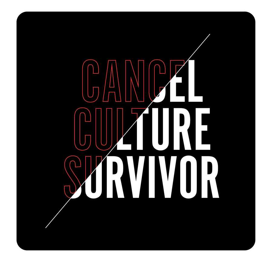 Cancel Culture Short Sleeve Tee | Black