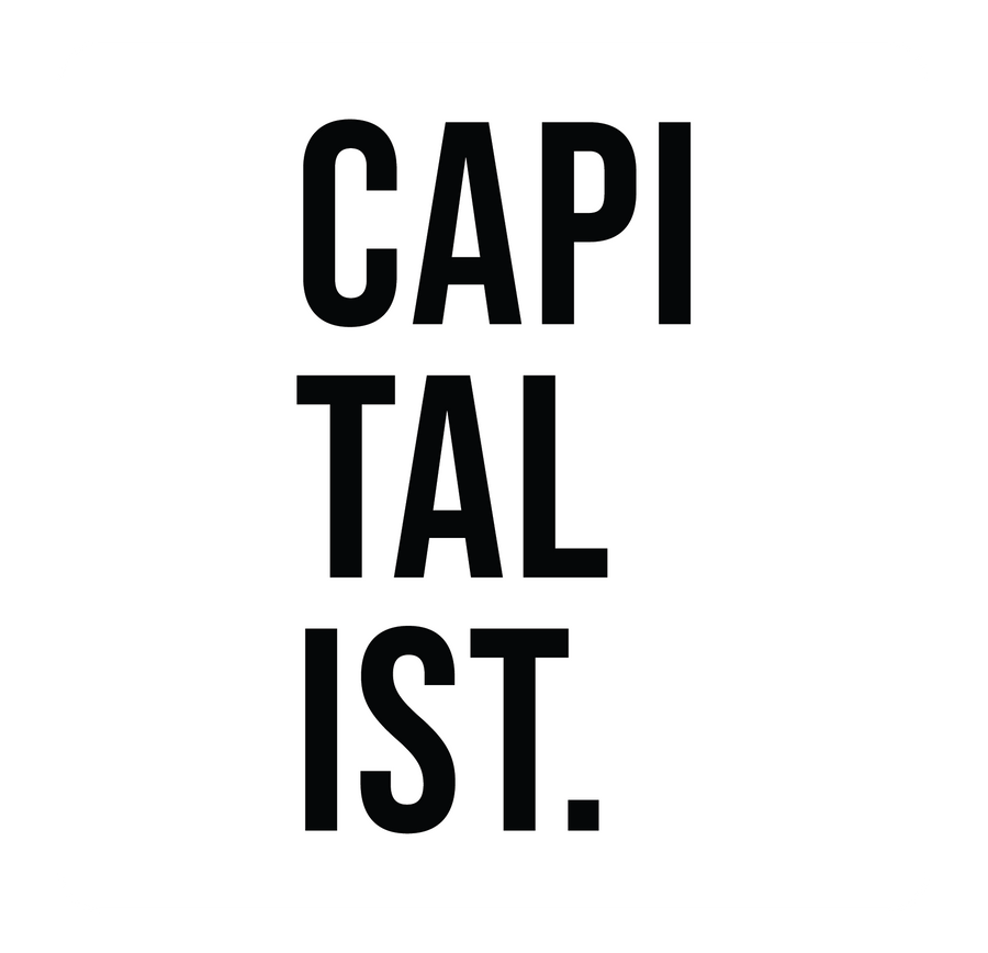 Capitalist Short Sleeve Tee | White