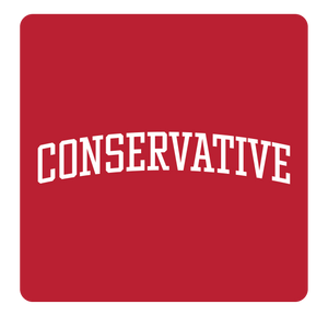 Conservative Hooded Sweatshirt | Red