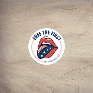 Free the First | Sticker