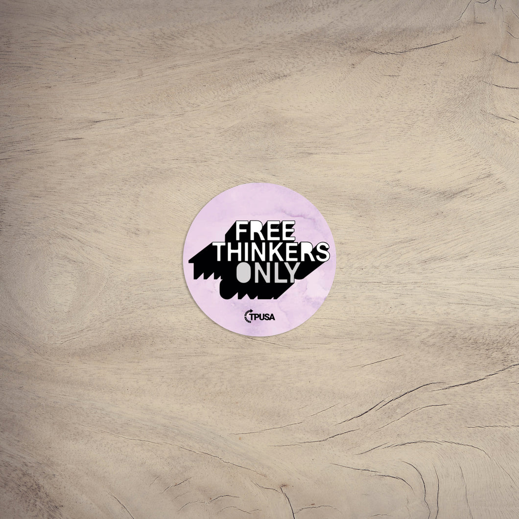 Free Thinkers Only | Sticker