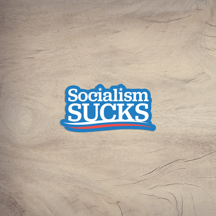 Socialism Sucks | Sticker