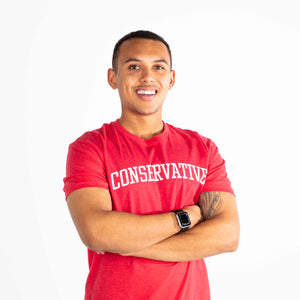 Conservative Short Sleeve Tee | Red