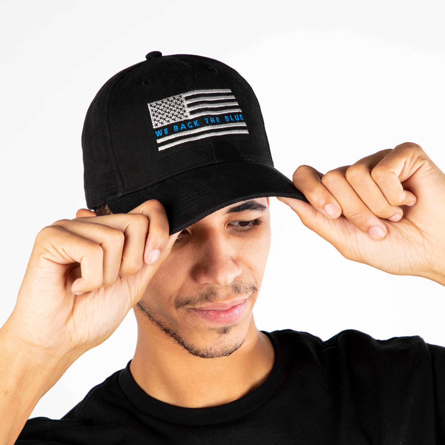 Back the Blue Hat | Black