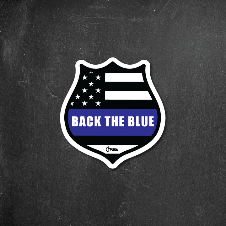 Back the Blue Badge | Sticker