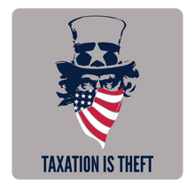Load image into Gallery viewer, Taxation is Theft America | Dark Heather Grey