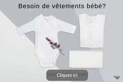 La collection de vetements en coton bio Happynest