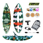 Motorized Kingfisher Kayak Jungle