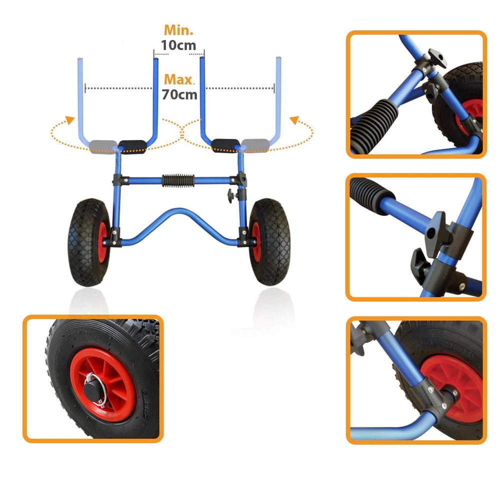Scupper Holes Fitting Kayak Trolley
