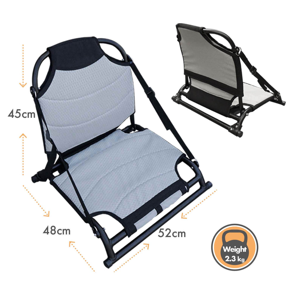 Aluminum Adjustable Fishing Kayak Beach Seat