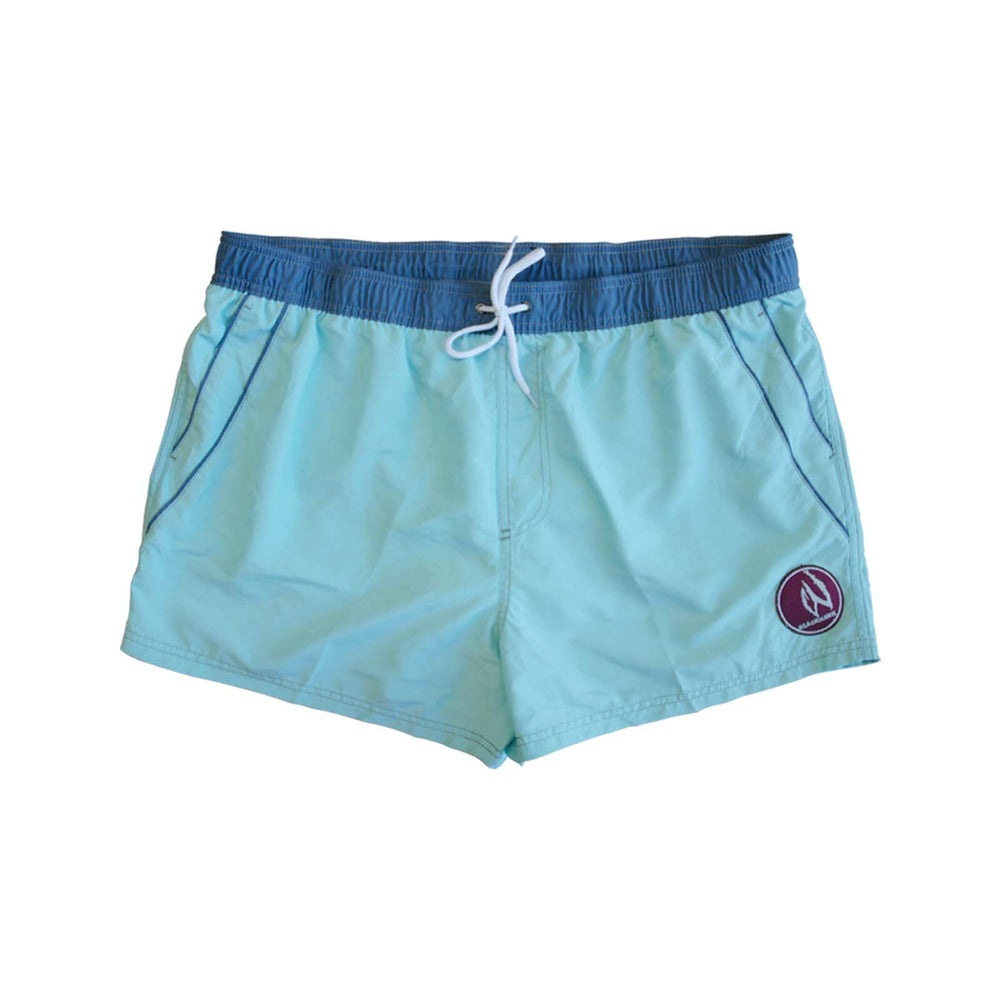 Mens Swim Beach Shorts Aqua BHACAPBS8