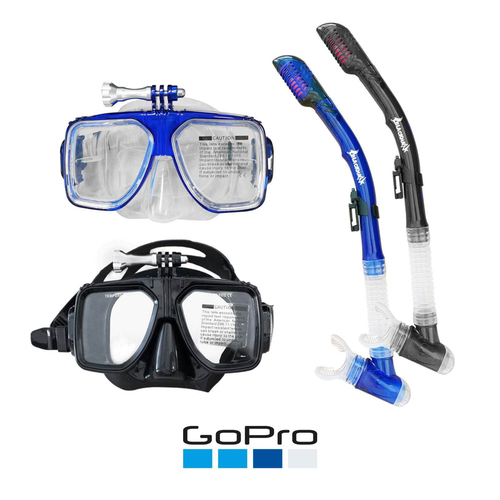 Mask & Snorkel Set - Blackhawk International