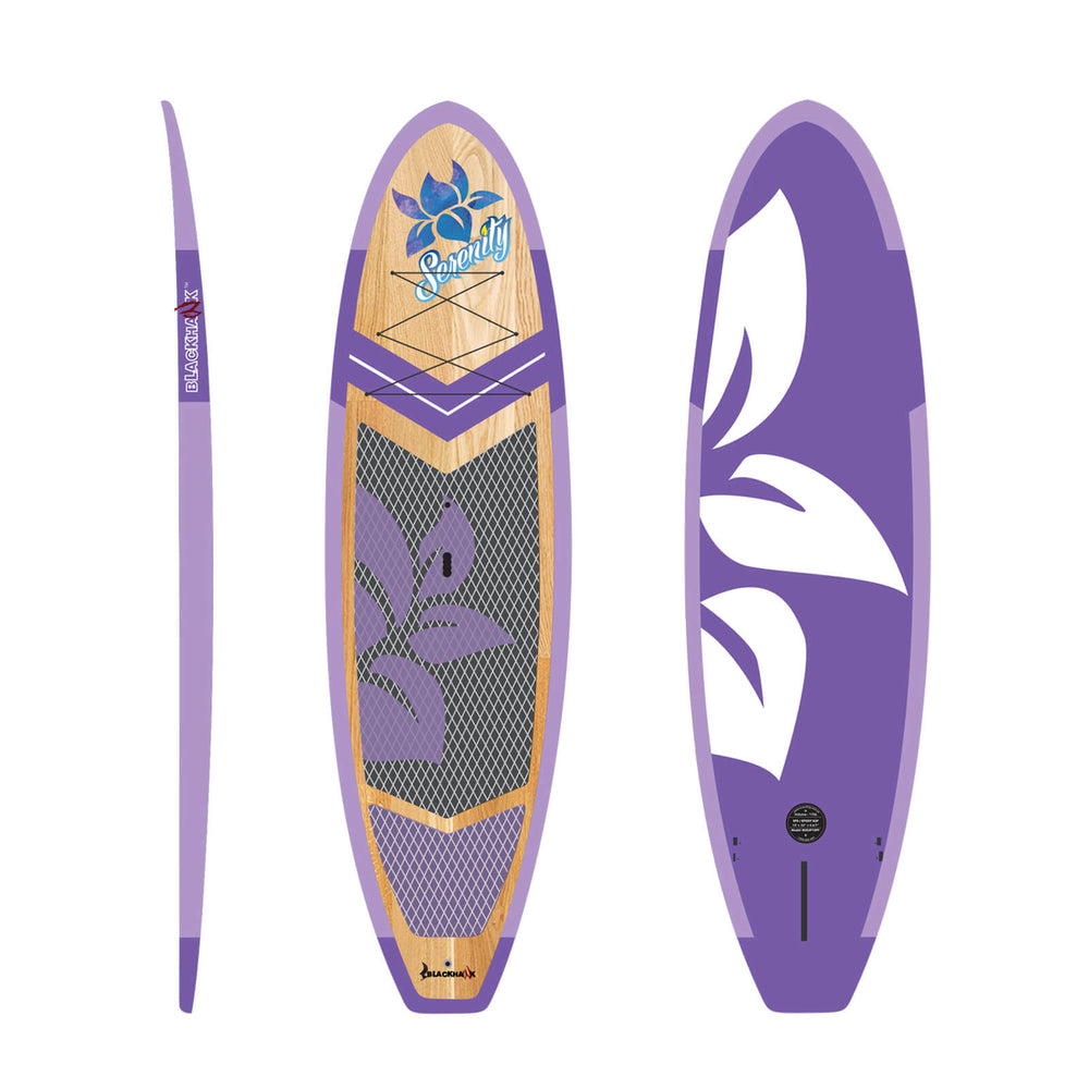 Purple Serenity Yoga SUP