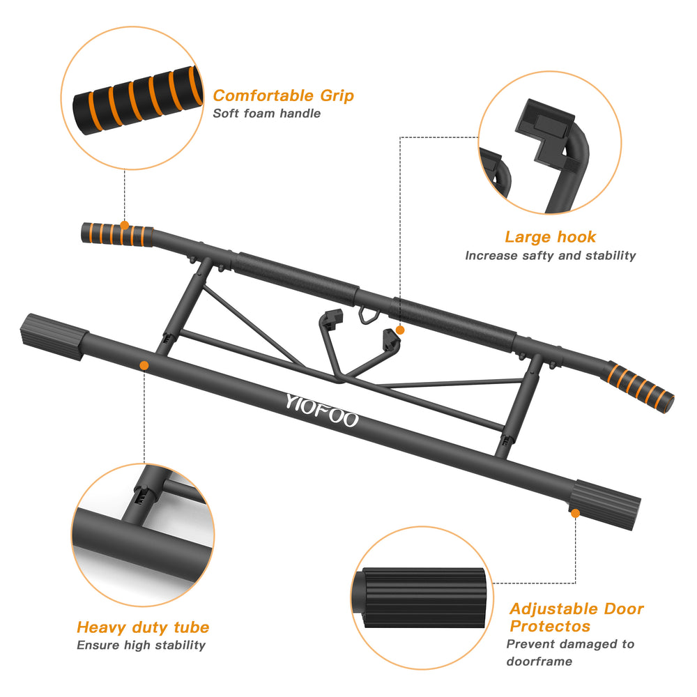 Deluxe Multi-Use Pull Up Bar - Blackhawk International