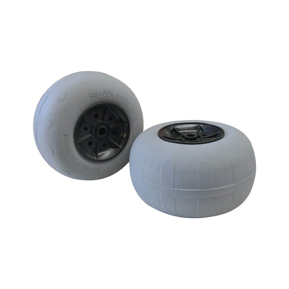 "12"" Inflatable Balloon Beach Trolley Wheels"