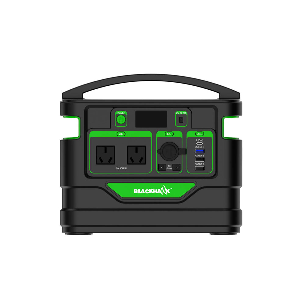 Blackhawk 500W/230V/12V/USB Power Station