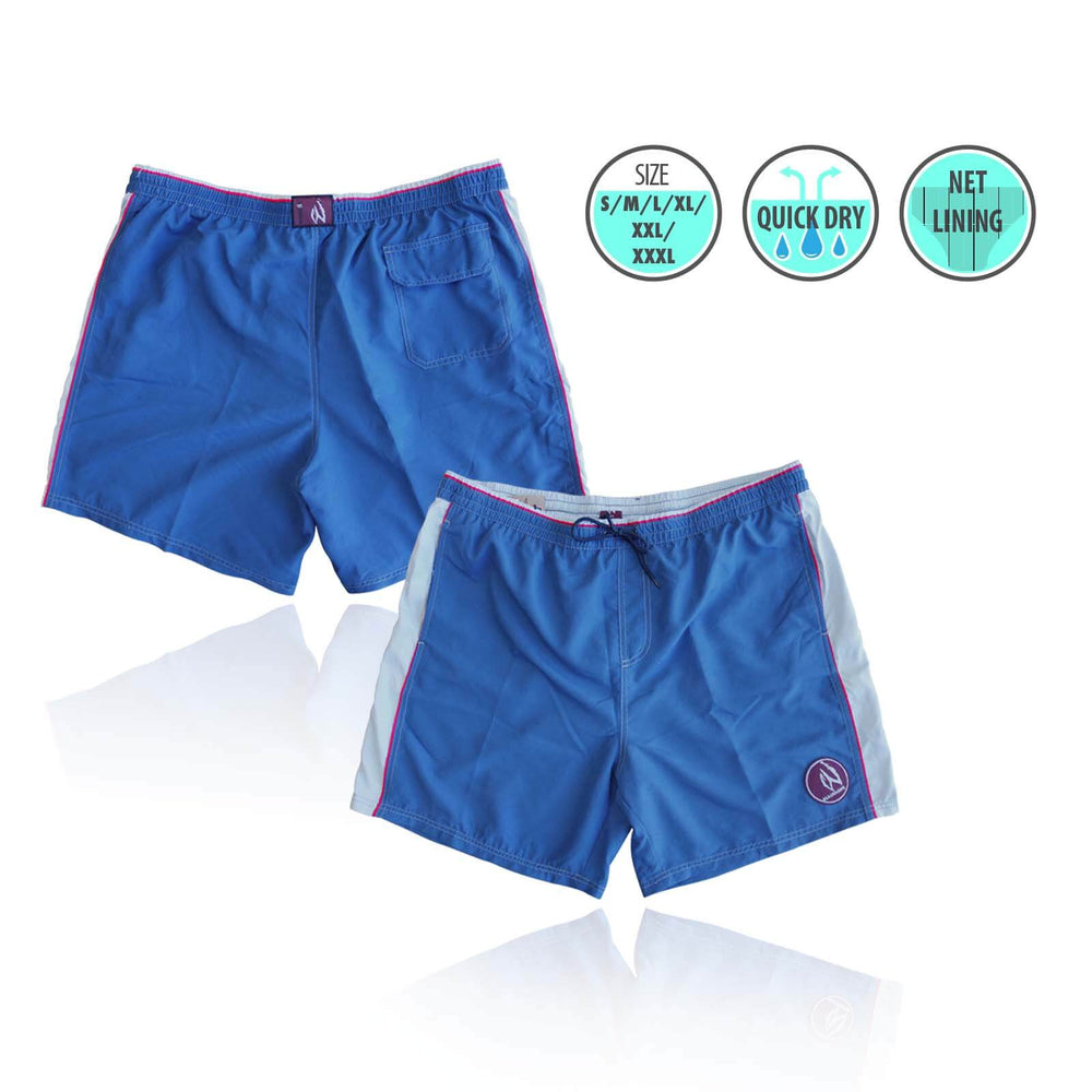 Mens Swim Beach Shorts Deep Blue BHACAPBS4