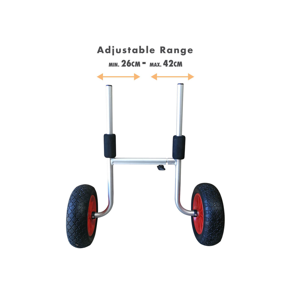 A/T Wheels H Shape Kayak Trolley - Blackhawk International
