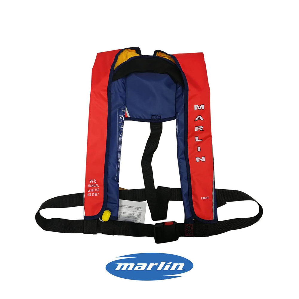 Marlin Manual Inflatable PFD Life Vest