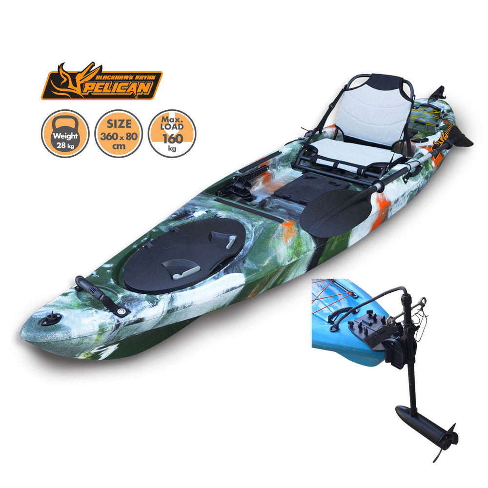 Motorized Pelican Kayak Jungle