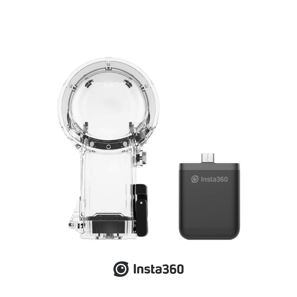 Insta360 ONE R Vertical Battery Base and Dive Case for 360 Dual Lens Mod