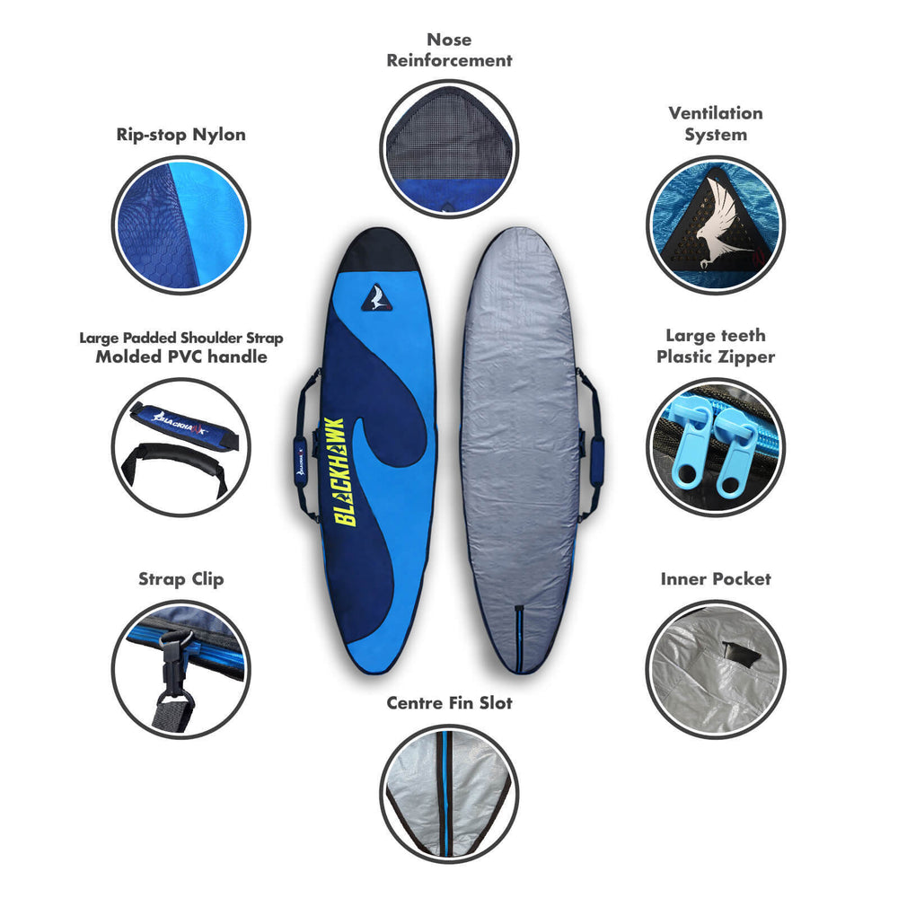 2.5D Surfboard Bag - Blackhawk International