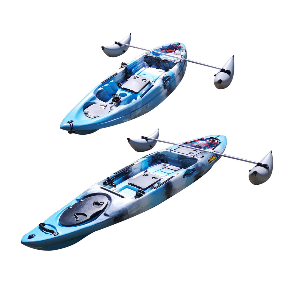 Inflatable Kayak Sidekick Stabilizer Outrigger Kit - Blackhawk International