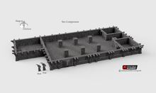 Load image into Gallery viewer, Inn of the Welcome Wench Bar - First Floor Tavern Pub 28mm Clorehaven Goblin Grotto Wargaming Terrain D&D, DnD, Pathfinder, RPG, Warhammer