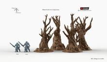 Load image into Gallery viewer, Winterdale - Skull Trees 28mm 32mm Wargaming Terrain D&D, DnD, Pathfinder, SW Legion, Warhammer, 40k