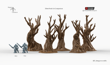Load image into Gallery viewer, Winterdale - Gnarly Trees 15mm 28mm 32mm Wargaming Terrain D&D, DnD, Pathfinder, SW Legion, Warhammer, 40k