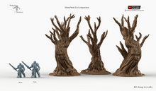 Load image into Gallery viewer, Winterdale - Wildwood Trees 28mm 32mm Wargaming Terrain D&D, DnD, Pathfinder, SW Legion, Warhammer, 40k