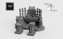 Load image into Gallery viewer, Occult and Evil Set - 28mm 32mm Hero's Hoard Wargaming Terrain D&D, DnD, Pathfinder, SW Legion, Warhammer