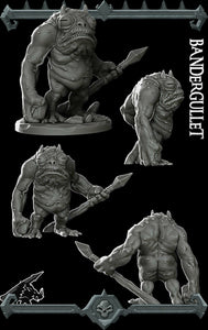 Bandergullet - Wargaming Miniatures Monster Rocket Pig Games D&D, DnD, Pathfinder, SW Legion, Warhammer