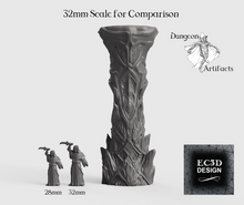 Load image into Gallery viewer, Ice Columns - 15mm 28mm 32mm Wilds of Wintertide Wargaming Terrain D&D, DnD, Pathfinder, SW Legion, Warhammer