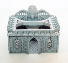 Load image into Gallery viewer, Skyless Realms Dark Elf Unholy Chapel -  28mm 32mm Wargaming Terrain D&D, DnD, Pathfinder, SW Legion, Warhammer, 40k