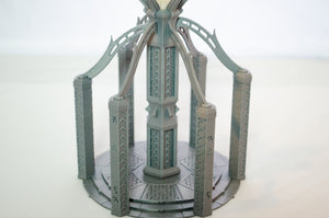 Skyless Realms - Dark Elf Sorcery Tower - 28mm 32mm Wargaming Terrain D&D, DnD, Pathfinder, SW Legion, Warhammer