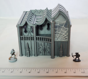 Dark Elf Noble House - Skyless Realms 15mm 28mm 32mm Wargaming Terrain D&D, DnD, Pathfinder, SW Legion, Warhammer