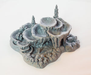 Skyless Realms - Wet Cavern Pool 28mm 32mm Wargaming Terrain D&D, DnD, Pathfinder, SW Legion, Warhammer