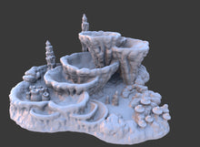 Load image into Gallery viewer, Skyless Realms - Wet Cavern Pool 28mm 32mm Wargaming Terrain D&D, DnD, Pathfinder, SW Legion, Warhammer
