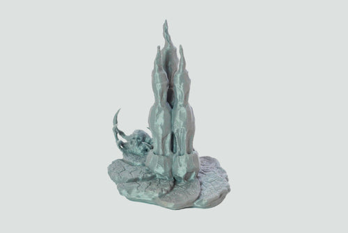 Skyless Realms - Pit Shrine  28mm 32mm Wargaming Terrain D&D, DnD, Pathfinder, SW Legion, Warhammer, 40k