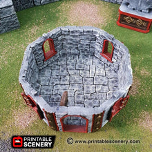 Load image into Gallery viewer, Dwarves, Elves and Demons - Dwarven House 28mm 32mm Wargaming Terrain D&D, DnD, Pathfinder, SW Legion, Warhammer, 40k, Sigmar