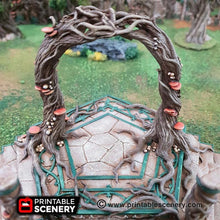 Load image into Gallery viewer, Dwarves, Elves and Demons - Elven Portal 15mm 28mm 32mm Wargaming Terrain D&D, DnD, Pathfinder, SW Legion, Warhammer, 40k