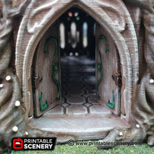 Load image into Gallery viewer, Dwarves, Elves and Demons - The Living Hall 28mm Wargaming Terrain D&D, DnD, Pathfinder, SW Legion, Warhammer, 40k