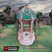 Load image into Gallery viewer, Dwarves, Elves and Demons - Shrine of Solace 28mm Wargaming Terrain D&D, DnD, Pathfinder, SW Legion, Warhammer, 40k