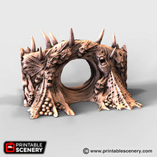 Load image into Gallery viewer, Dwarves, Elves and Demons - Tormented Portal 28mm Wargaming Terrain D&D, DnD, Pathfinder, SW Legion, Warhammer, 40k, OpenLock