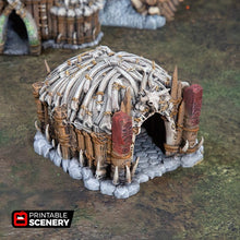 Load image into Gallery viewer, The Lost Islands - Shaman's Hut - 28mm 32mm Wargaming Terrain D&D, DnD, Pathfinder, SW Legion, Warhammer, 40k, Pirates