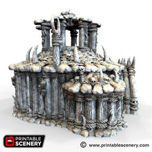 Load image into Gallery viewer, The Lost Islands - The Witch Temple - 28mm Wargaming Terrain D&D, DnD, Pathfinder, SW Legion, Warhammer, 40k, Pirates