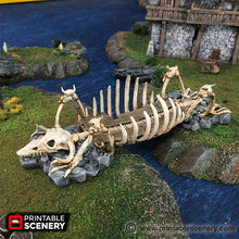 Load image into Gallery viewer, The Lost Islands - The Bone Bridge - 28mm 32mm Wargaming Terrain D&D, DnD, Pathfinder, SW Legion, Warhammer, 40k, Pirates