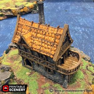 The Lost Islands - The Port Merchant - 15mm 28mm 32mm Wargaming Terrain D&D, DnD, Pathfinder, SW Legion, Warhammer, 40k, Pirates